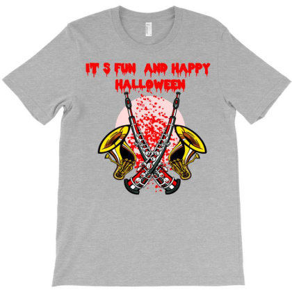 It Is Fun And Happy Halloween T-shirt Designed By Lotus Fashion Realm
