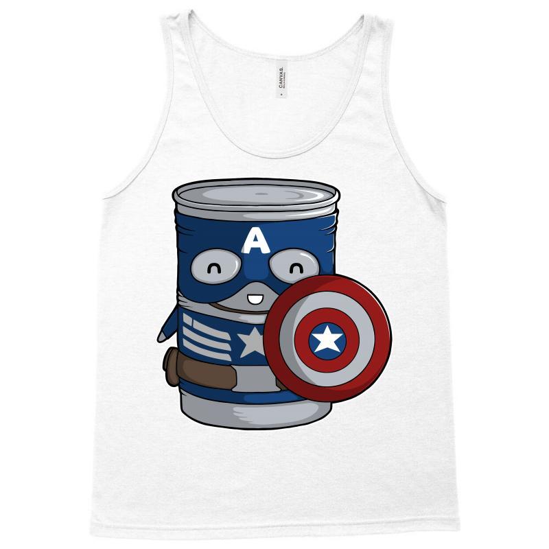 Cap Tin America Tank Top | Artistshot