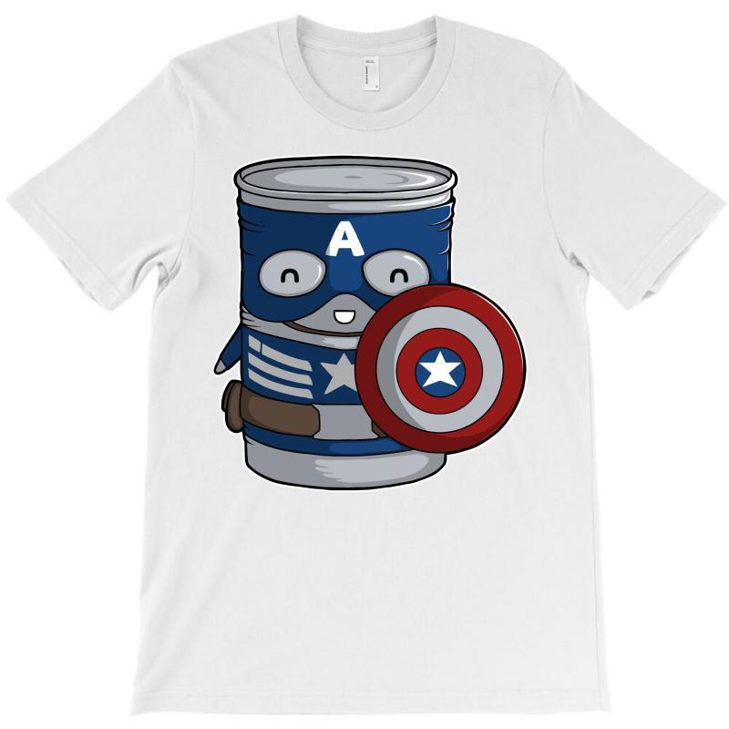 Cap Tin America T-shirt | Artistshot