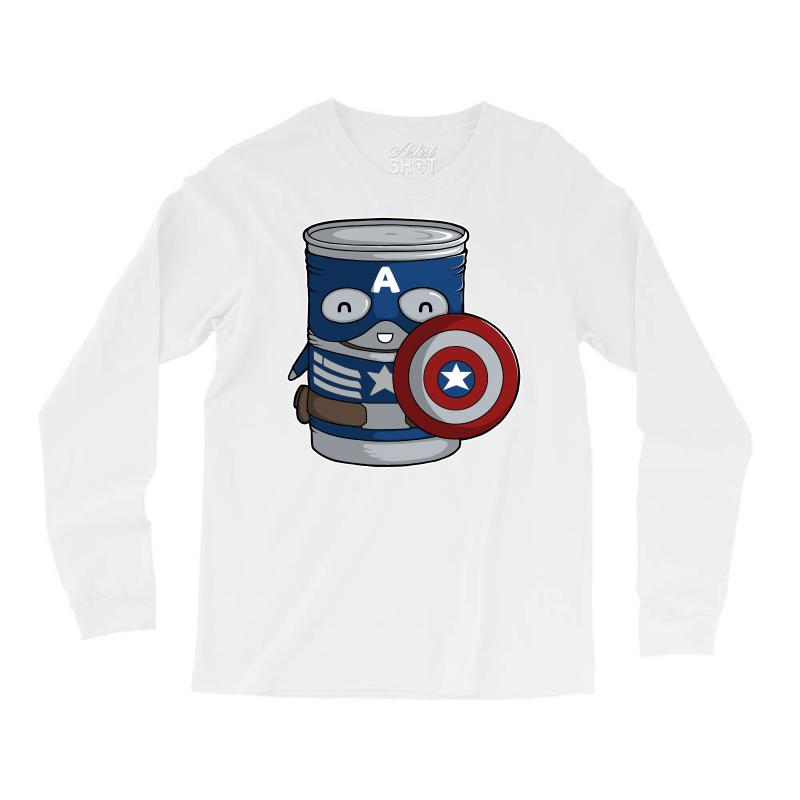 Cap Tin America Long Sleeve Shirts | Artistshot