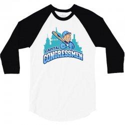 capital congressmen 3/4 Sleeve Shirt   Artistshot