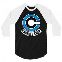 capsule corp (2) 3/4 Sleeve Shirt   Artistshot