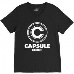 capsule corp (3) V-Neck Tee | Artistshot