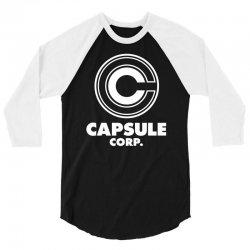 capsule corp 3/4 Sleeve Shirt   Artistshot