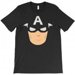 captain america mask T-Shirt | Artistshot