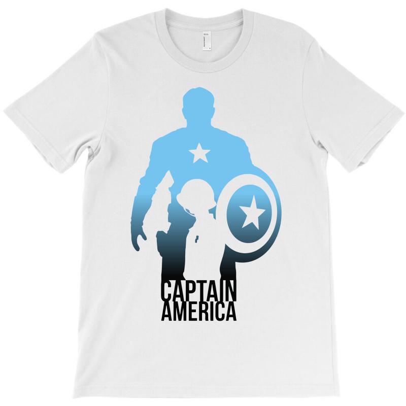 Captain America Ombre T-shirt | Artistshot