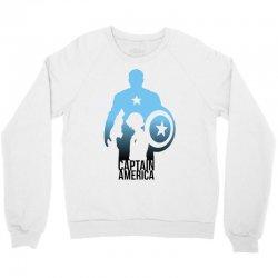 captain america ombre Crewneck Sweatshirt | Artistshot