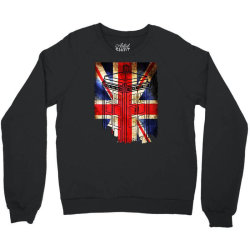tardis British flag Crewneck Sweatshirt | Artistshot