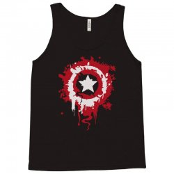 captain america shield Tank Top | Artistshot