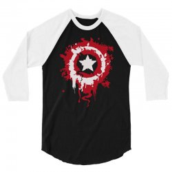captain america shield 3/4 Sleeve Shirt | Artistshot