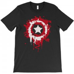 captain america shield T-Shirt | Artistshot