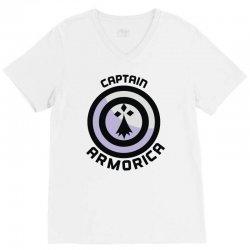 captain armorica V-Neck Tee | Artistshot