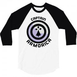 captain armorica 3/4 Sleeve Shirt | Artistshot