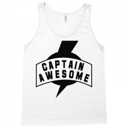 captain awesome Tank Top | Artistshot