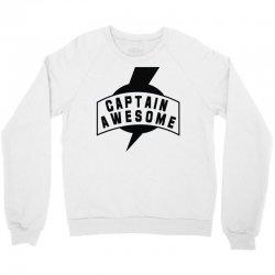 captain awesome Crewneck Sweatshirt | Artistshot