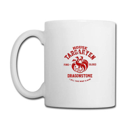 Fire And Blood Coffee Mug Designed By Thompson