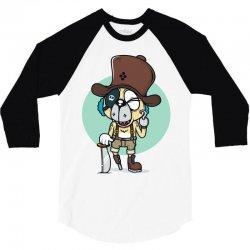 captain chomo 3/4 Sleeve Shirt | Artistshot