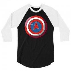 captain federation 2 3/4 Sleeve Shirt | Artistshot