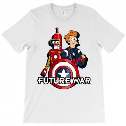 captain fry and iron bender in a civil future war T-Shirt | Artistshot