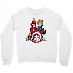 captain fry and iron bender in a civil future war Crewneck Sweatshirt | Artistshot
