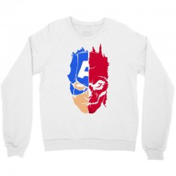 captain vs hydra Crewneck Sweatshirt | Artistshot