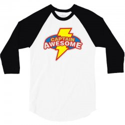 captawesome 3/4 Sleeve Shirt | Artistshot