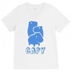 capy V-Neck Tee | Artistshot