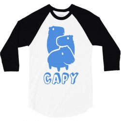 capy 3/4 Sleeve Shirt | Artistshot