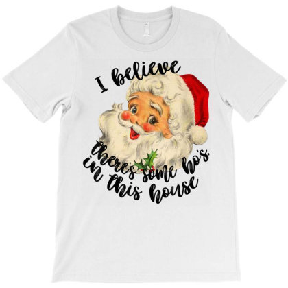 In This House Funny Santa Claus Christmas T-shirt Designed By Mrt90