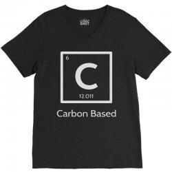 carbon based organism V-Neck Tee | Artistshot