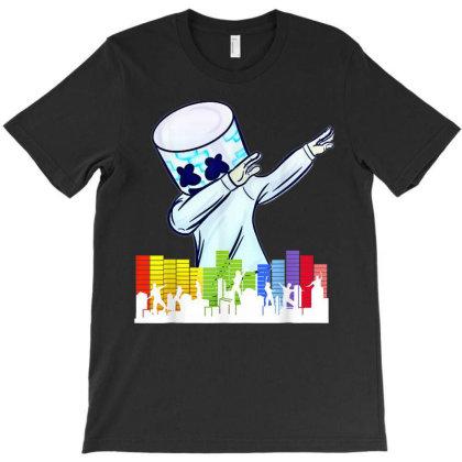 Dj Dance Love T-shirt Designed By Mrt90