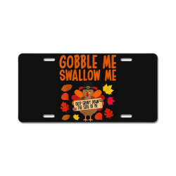 Funny Turkey Thanksgiving License Plate   Artistshot