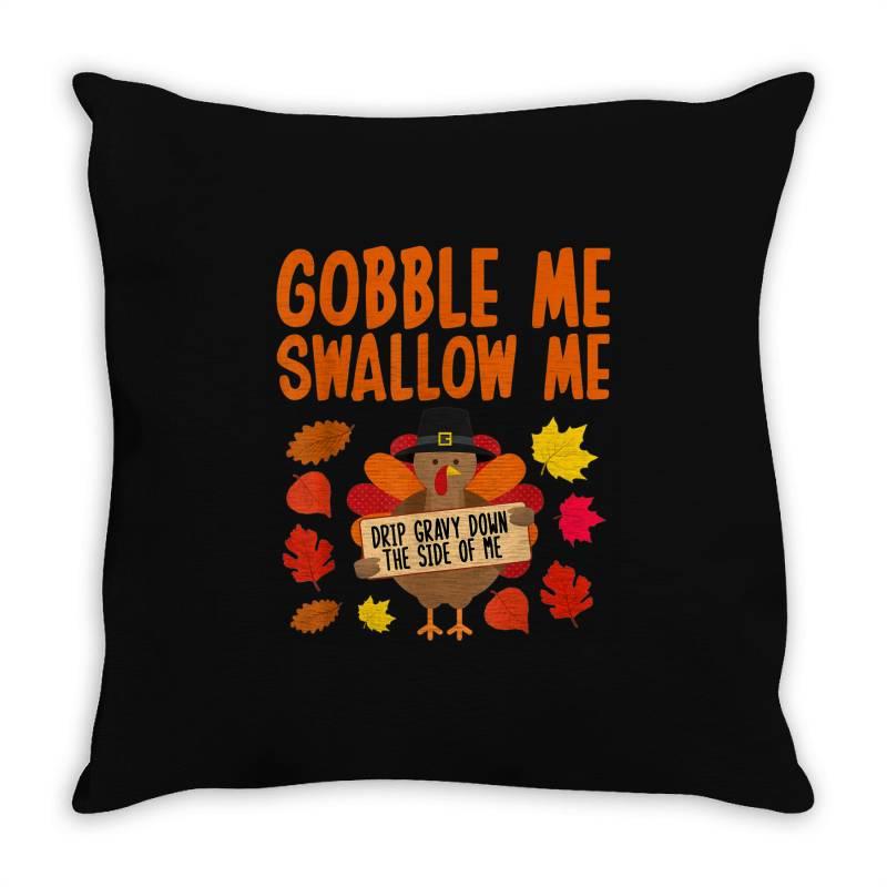 Funny Turkey Thanksgiving Throw Pillow   Artistshot