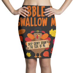 Funny Turkey Thanksgiving Pencil Skirts   Artistshot