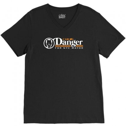 Carlos Danger V-neck Tee Designed By Monstore