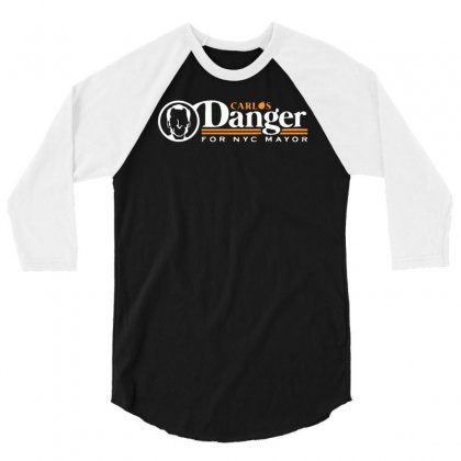 Carlos Danger 3/4 Sleeve Shirt Designed By Monstore