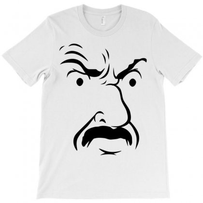 Carl's Face Athf T-shirt Designed By Monstore