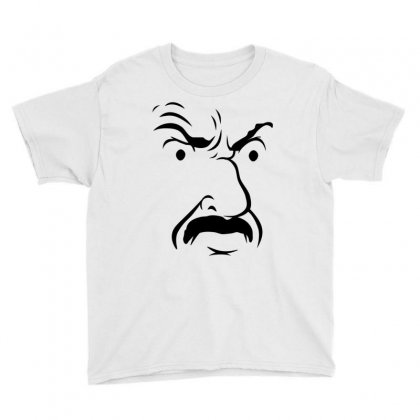 Carl's Face Athf Youth Tee Designed By Monstore