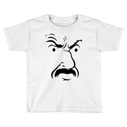 Carl's Face Athf Toddler T-shirt Designed By Monstore