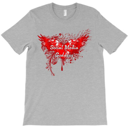 Social Media Goddess T-shirt Designed By Lotus Fashion Realm