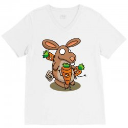 carrot party V-Neck Tee | Artistshot