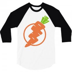 carrots lightning 3/4 Sleeve Shirt | Artistshot