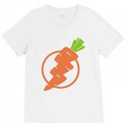 carrots lightning V-Neck Tee | Artistshot