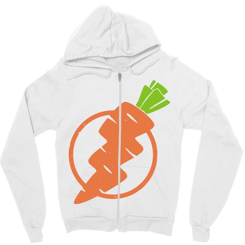 Carrots Lightning Zipper Hoodie | Artistshot