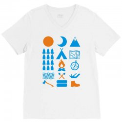 carry on camping V-Neck Tee | Artistshot