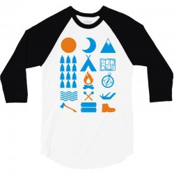 carry on camping 3/4 Sleeve Shirt | Artistshot