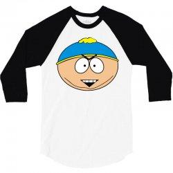 cartman tête 3/4 Sleeve Shirt | Artistshot