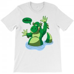cartoon nessy T-Shirt | Artistshot