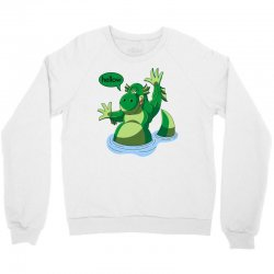 cartoon nessy Crewneck Sweatshirt | Artistshot