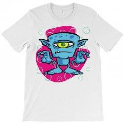 cartoon one eyed space monster T-Shirt | Artistshot